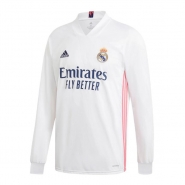 Manga Larga 1ª Equipacion Camiseta Real Madrid 20-21