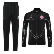 Chandal de Chaqueta del Paris Saint-Germain 2021 Negro