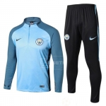 Chandal del Manchester City 17/18 Azul