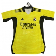 Camiseta Real Madrid Portero 21-22 Amarillo