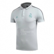 Camiseta del Polo Real Madrid 17/18 Gris