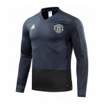 Sudadera del Manchester United 18/19 Gris