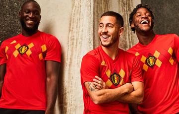 Camiseta Belgium 2018