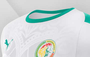 Camiseta Senegal 2018