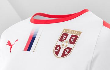 Camiseta Serbia 2018